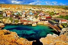 beautiful-view-on-popeye-village-in-malta