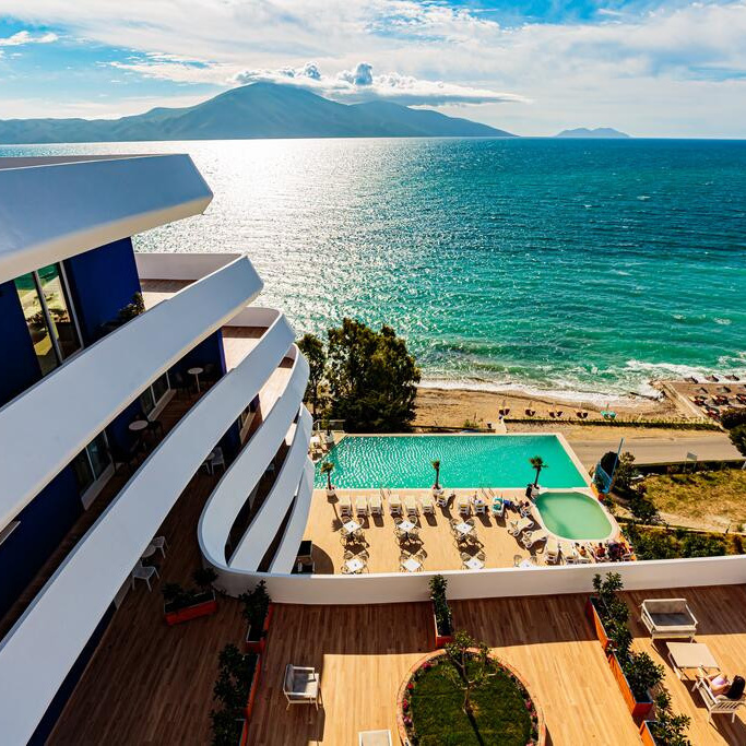 You are currently viewing Hotel Regina Blue 5*- Валона, Албанија